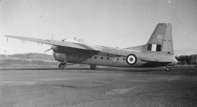 20_Nouméa-La Tontouta, Avro_Argosy, 1948-56. ANC 1 Num 5-042.