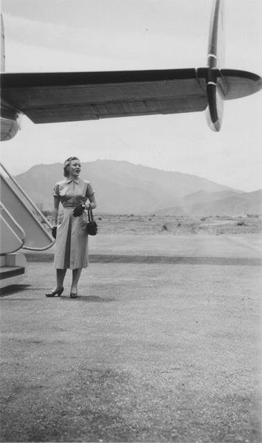 29_Nouméa-La Tontouta, embarquement, 1948-56. ANC 1_Num_5-149_5.0000