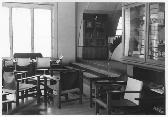 30_Nouméa-La Tontouta, salle de transit,1948-56. ANC 1_Num_5-172_581200
